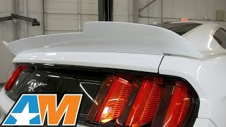 2015-2017 Mustang MMD V Series Rear Spoiler - Pre-Painted or Unpainted Review & Install
