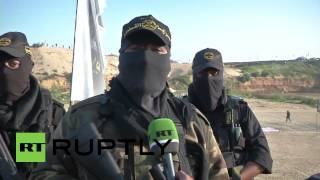 State of Palestine: Watch Al-Quds fighters in LIVE-FIRE drills