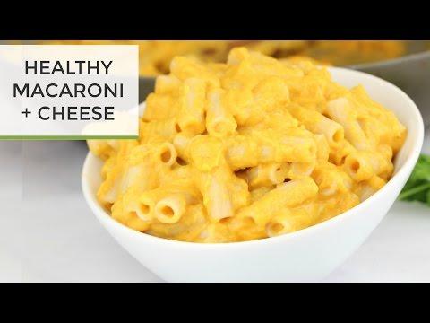 Healthy Macaroni & Cheese Recipe   Nikki Dinki's Kraft Style Mac & Cheese thumbnail