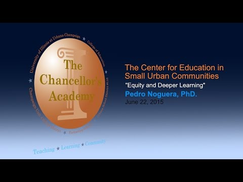 Equity and Deeper Learning
