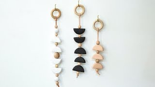How to Make a Clay and Wood Wall Hanging | Sunset