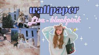 wallpaper lisa blackpink kpop