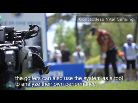 Contactless Vital Sensing @ Golf - Panasonic Open 2017
