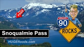 Snoqualmie Pass in the Cascade Range