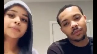 G Herbo and Fabolous Daughter Open Up About Their Relationship Who Kissed Who First?