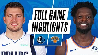 GAME RECAP: Mavericks 99, Knicks 86