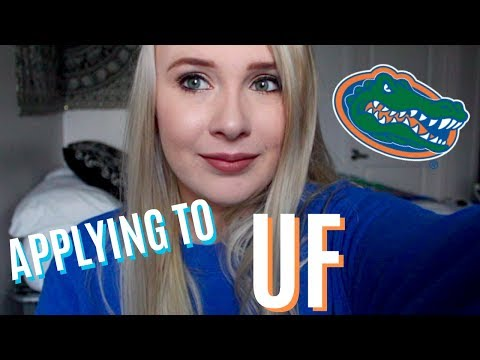 TIPS ON APPLYING TO THE UNIVERSITY OF FLORIDA // Taylor Bark