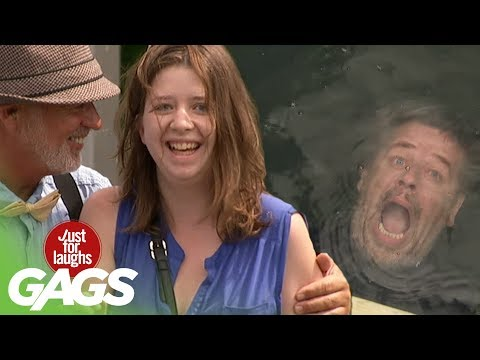 Underwater Horror Prank - Just For Laughs Gags
