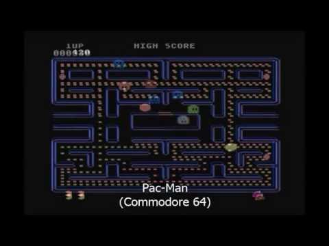Pac-Man Games (Long Compilation: 50+ Versions)
