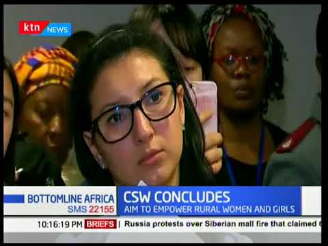 Bottomline Africa: Commission on the status of women ends