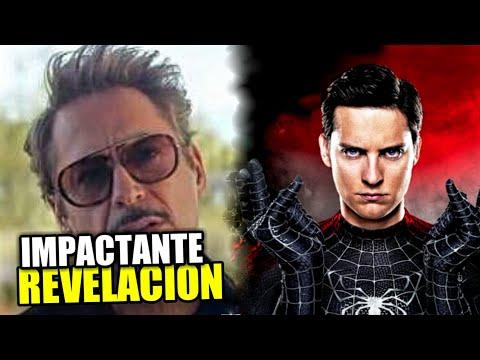 ¡Tony Stark hizo esto antes de morir en Avengers endgame! + Spider-Man 4 y teorías del chasquido