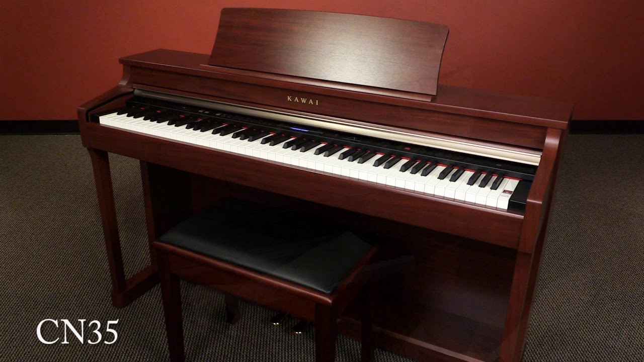 kawai cn35 digital piano demo youtube. Black Bedroom Furniture Sets. Home Design Ideas
