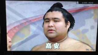 大相撲 平成29年初場所 9日目.