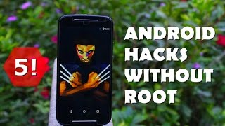 Best Android Hacks(Apps) without Root