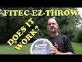 How To Throw a Fitec EZ Throw Cast Net - Step By Step