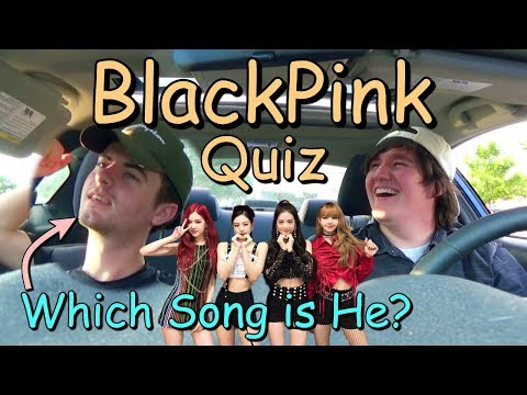 Bryson Takes A BLACKPINK Quiz // Which BlackPink Song Represents Him?