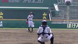 【高校野球】龍谷大平安(京都)投球練習≪2019センバツ≫