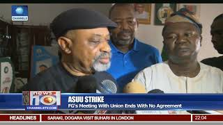 ASUU Strike: FG's Meeting With Union Ends With No Agreement