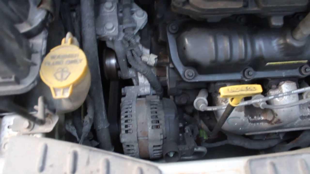 Dodge Caravan 2002 33L V6 Engine Noise YouTube – Dodge 3.3 Liter Engine Diagram
