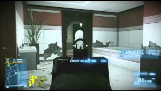 Battlefield 3 | Donya Fortress | close quarters gameplay