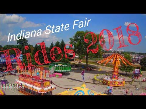 Indiana State Fair rides