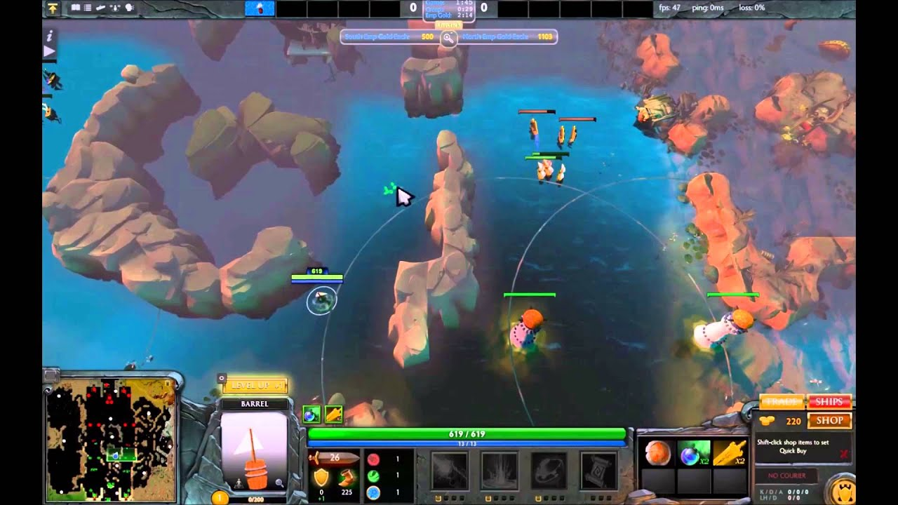 Battleships Tutorial Reborn (Dota 2 Custom Game)