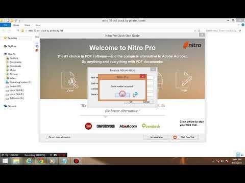 nitro pdf professional activation code