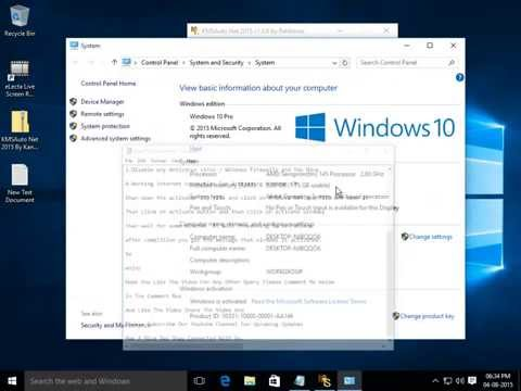 How To Activate Windows 10 Any Version