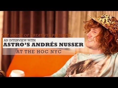 Astro - Interview // The HoC NYC 2013