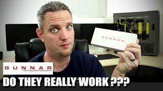 Gunnar Optiks - Do they really work??