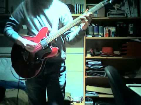 Here comes my baby - The Tremeloes (Bass cover improvisation)