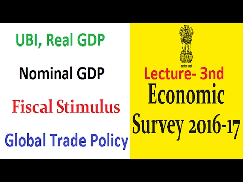 Economic Survey 2016-17- Lecture- 3rd - [UPSC/PCS/RBI-Gr-B/SBI-PO/IBPS/SSC] By VeeR