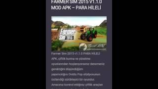 farming simulator/ hileli indirme/ çok basit.