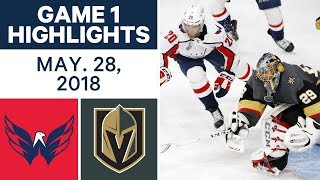NHL Highlights | Capitals vs. Golden Knights, Game 1 - May 28, 2018