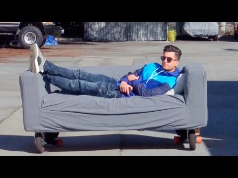 AMAZING MOTORIZED SOFA