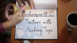 3 Easy Techniques to Transform Your Sketchbook in 15 min by Speedpainter Jessica K. Haas!