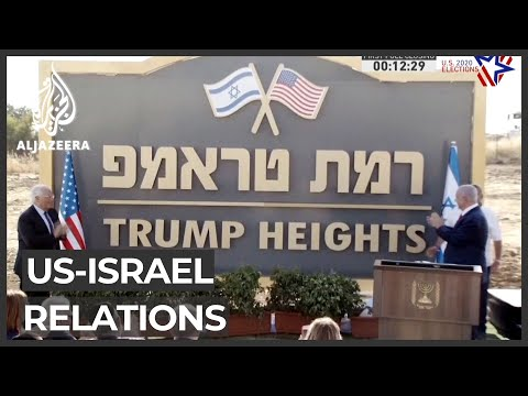 Israel PM Netanyahu Thanks US President Donald Trump