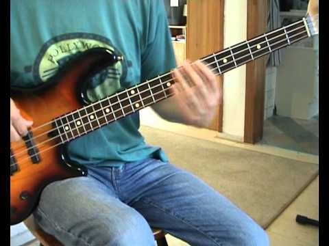 Jim Diamond - Hi Ho Silver - Bass Cover