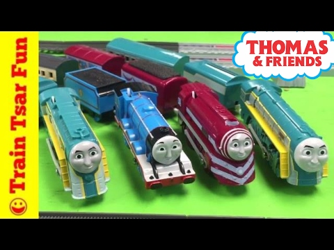 TOMY Plarail Connor and Gordon Thomas &...