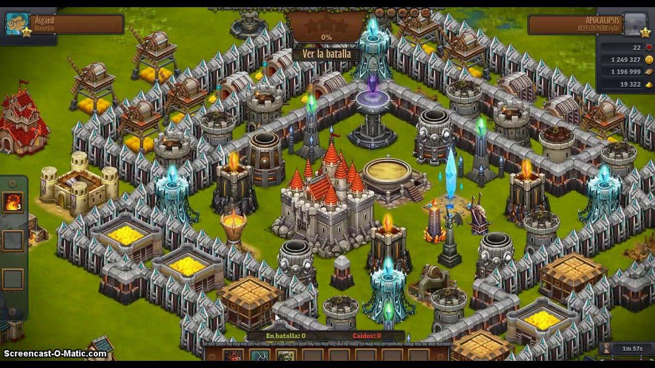 Throne Rush apk android, pc et ios
