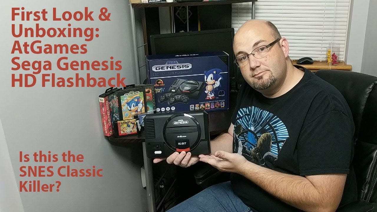 Atgames Sega Genesis Flashback HD Unboxing - The SNES Classic Killer You've  Been Waiting For?