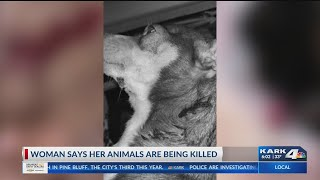Woman Says Her Animals Are Being Killed