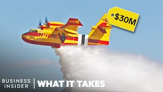 How The $30 Million 'Super Scooper' Plane Was Built To Fight Wildfires
