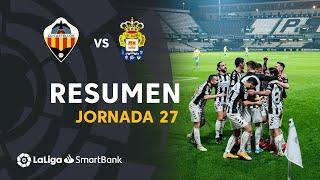 Resumen de CD Castellón vs UD Las Palmas (4-0)