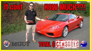 Ferrari 360 Modena - One Year Ownership Report (The Good, The Bad and the downright Ugly...)