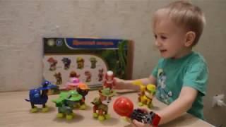 Видео с игрушками. Щенячий патруль. Набор  героев. Обзор игрушек.