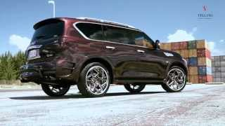 LARTE Design Infiniti QX80 LR3 tuning kit on VELLANO VJK CONCAVE