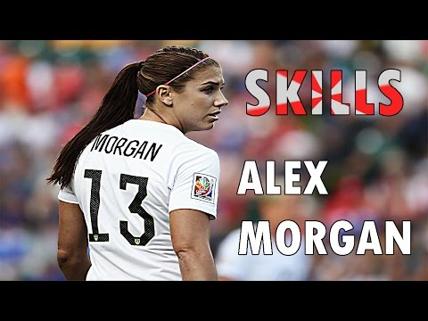 Alex morgan- AMAZING SKILL GOALS HD