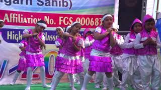 Dance on Sorry sorry on Annual Rainbow 2018 By Little Angel School Sanghol