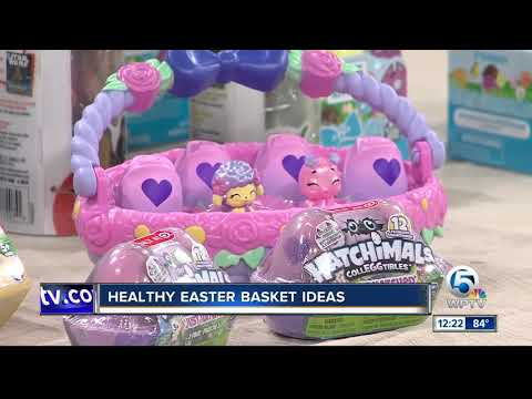 Healthy Easter time Basket Suggestions for Toddlers